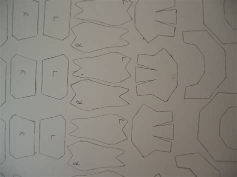 cardboard armor template cardboard armour 1 by jaztermareal on deviantart