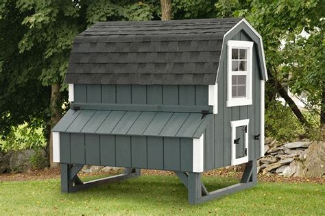 Barn Chicken Coop by Barn Style Chicken Coops Eberly Barnseberly Barns