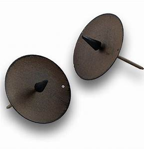 Kerzenhalter Mit Dorn Zum Stecken : kerzenhalter zum stecken 6x6 5cm braun 4st preiswert online kaufen ~ Orissabook.com Haus und Dekorationen