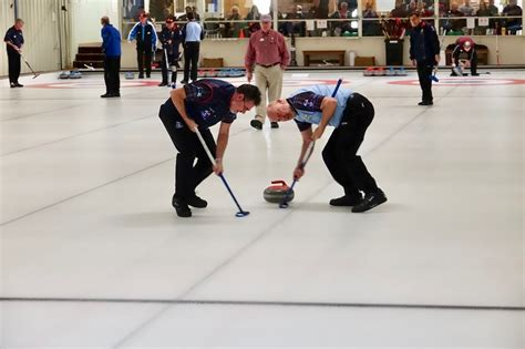 Scots Brush Ice With Falmouth Curling Team In Onceper
