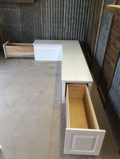 Kitchen Bench Clutter by Banquette Corner Bench Seat With Storage Drawers Nook