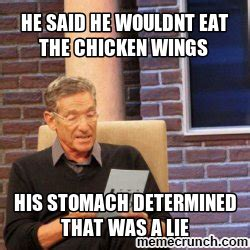 Hot Wings Meme - the gallery for gt chicken wings meme