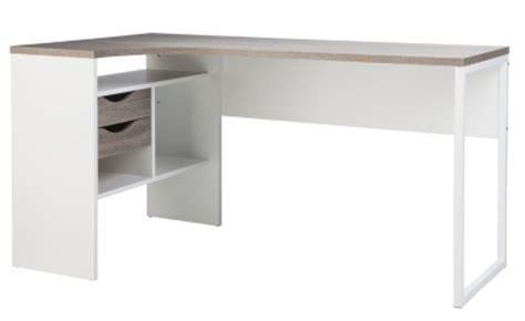 but bureau blanc type de bureau bureau d 39 angle meuble bureau et