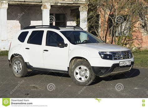 Renault Duster Photo by Renault Duster White Editorial Stock Photo Image Of