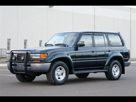 Toyota Land Cruiser Picture by 4k Review 1996 Toyota Land Cruiser 4wd Fj80 Test