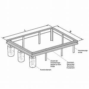 Gewächshaus Mit Fundament : aluminiumfundament f r gew chshaus plan12 typ plantarium ~ Watch28wear.com Haus und Dekorationen