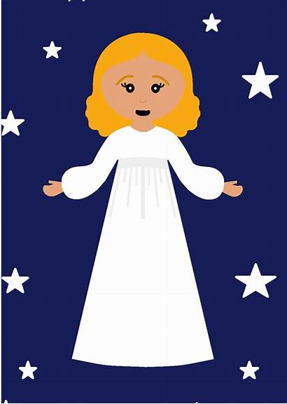 Christmas Primary Angels Singing Clipart Lds Chorister