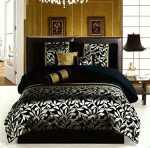 gold and black comforter set home design remodeling ideas