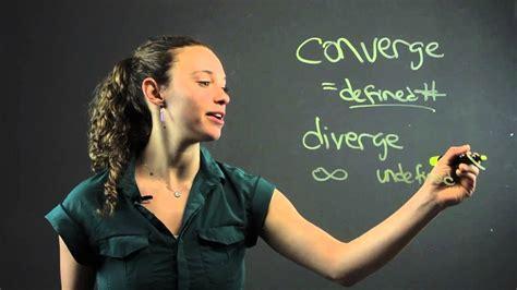 distinguish  convergence divergence math tastic