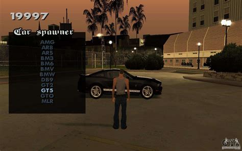 vehicles spawner  gta san andreas