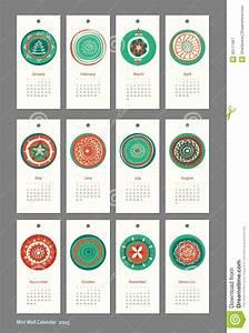 Mini Kalender 2015 : mini leuke kalender 2015 seizoenen vector illustratie illustratie bestaande uit leuk decor ~ Watch28wear.com Haus und Dekorationen