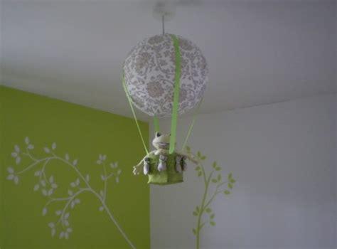 deco ikea chambre une le suspension montgolfière bricolage macarons
