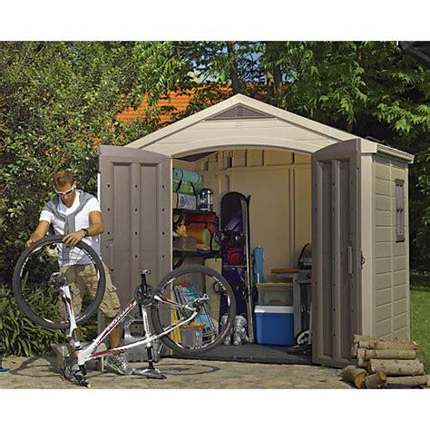 keter shelves for sheds keter door plastic apex shed with roof light