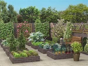 Jardin En Carré : cr ez vous un jardin tendance et original pour l hiver ~ Premium-room.com Idées de Décoration
