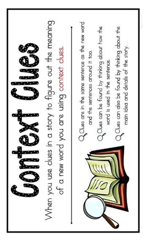Context Clues Bookmarks By The Creative Classroom Tpt