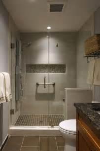 Brown and Beige Tile Bathroom Showers