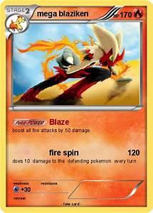 Pokémon mega blaziken 99 99 - Blaze - My Pokemon Card