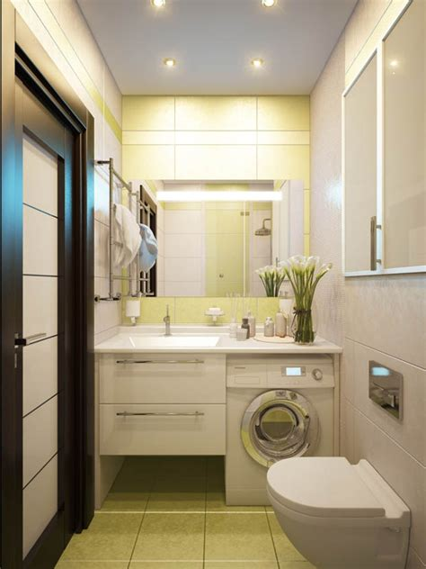 Bathroom Design With Washer And Dryer by Washer Dryer In Bathroom Layout For Small Space Small