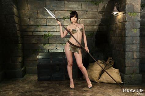 Gravurecom Shino Aoi 碧しの Woman Warrior