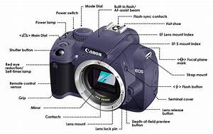 Dslr Camera Functions Diagram