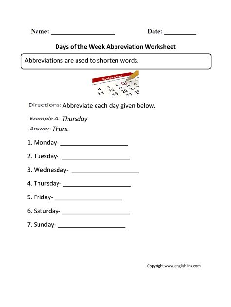 grammar mechanics worksheets abbreviation worksheets