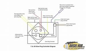 Glow Plug Relay Wiring Diagram 7 3