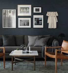 deco salon salon scandinave deco salon gris tres moderne With couleur pour mur salon 2 deco salon gris 88 super idees pleines de charme