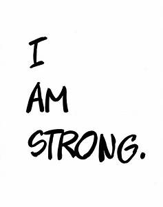 Be strong. You never know who you're inspiring! [eng] | I ...