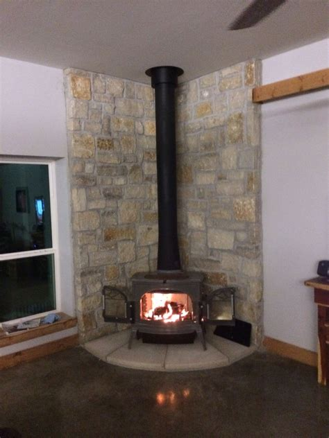 gas stove place living room