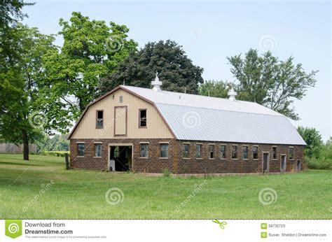 Modern Barn Royaltyfree Stock Image  Cartoondealercom