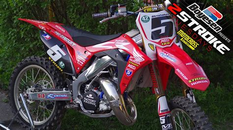 Twostroke Tuesday  2019 Honda Cr125 Built In Russia