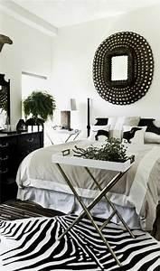 le tapis zebre en 50 photos avec beaucoup d39idees With nettoyage tapis avec canapé lit rond