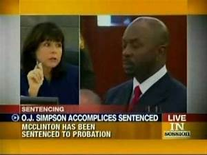 OJ Co-Defendant Michael McClinton Sentence---Probation ...