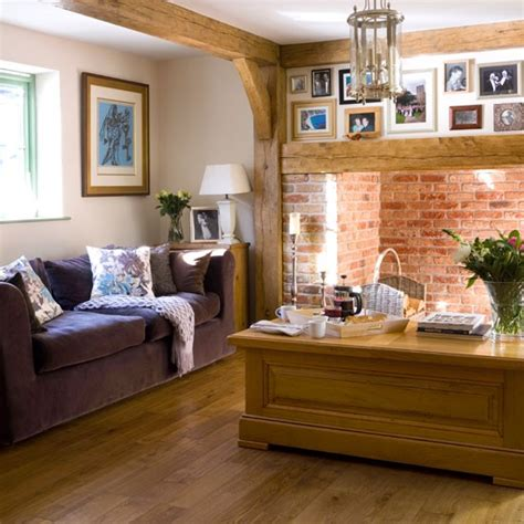 Country Cottage Living Room Ideas by Warm Living Room Cottage Living Room Housetohome Co Uk
