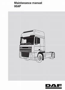 Daf 95xf Series Truck Service Repair Workshop Manual Pdf