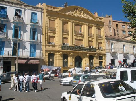panoramio photo of tiaret banque nationale d algerie