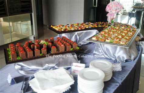 mini table cuisine finger food buffet in kl the match catering services