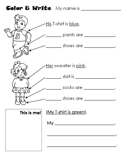 kindergarten worksheets colors school shapes seasons