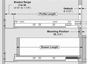 Undermount Drawer Slides - Eagle Bay Cabinet Doors & Drawers