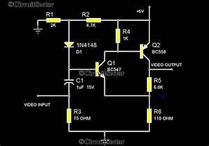 Camera Video Amplifier Circuit  Transistorized