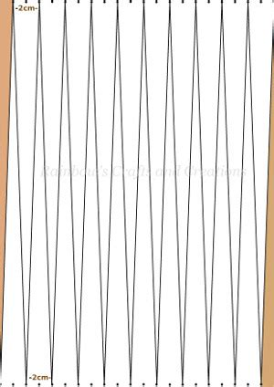 paper bead template rainbow s crafts and creations how to make a paper bead