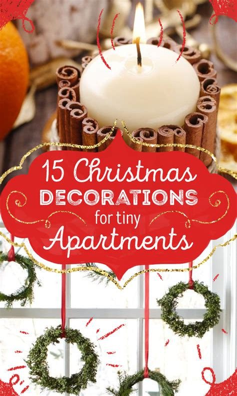 christmas decorations for a small apartment 15 creative decorations for tiny apartments