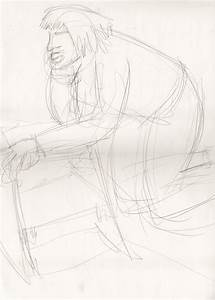 Life Drawing- Female Model 12 by andynortonuk