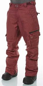 Fa442 Fuse Snowpant Color Burgundy