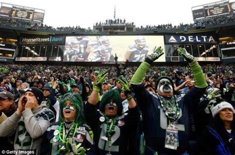 seattle seahawks rowdy fans generated