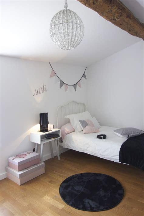 best deco chambre ado fille gris et rose gallery home