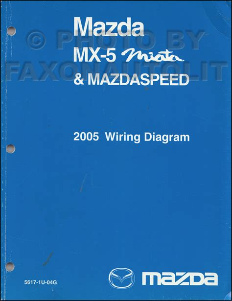 Mazda Miata Mazdaspeed Wiring Diagram Manual