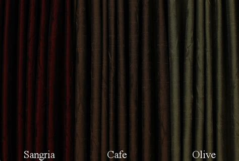 Sidelight Spring Tension Curtain Rods by Sidelight Curtains Burnished Sateen Crushed Fabrics
