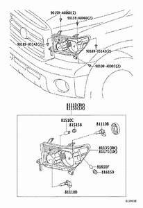 2017 Toyota Tundra Headlight  Left   Headlamp  Electrical  Lamps - 811500c091