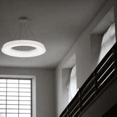 pendant light circular pol led dimmable white ocm hcm martinelli luce nedgis lighting